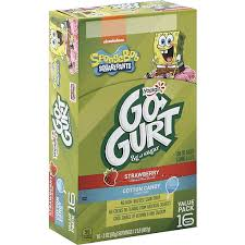 yoplait go gurt 16 count spongebob