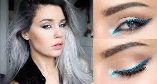 eye catching festival makeup