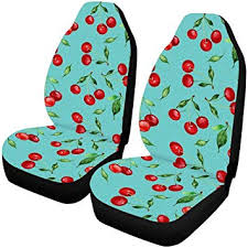 interestprint sweet cherry auto seat