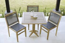 contemporary dining table teak