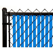 Royal Blue 7ft Tube Slat For Chain Link Fence Walmart Com Walmart Com