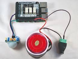 raspberry pi motion sensor alarm