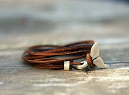 leather cord bracelet womens