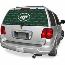 New York Jets Ny Auto Rear Window Film Decal Windshield Cover Nfl Football Ebay
