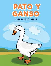 Pato y ganso libro para colorear: Amazon.es: for Kids, Coloring ...