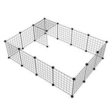 Low Cost Diy Combination Wire Mesh Pet Cage Dog Cat Rabbit Cage Multi Function Fence Iron