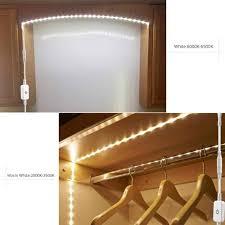 12V Mờ Tủ bếp Đèn 110V 220V 2835 cảm biến cảm Ứng dây đèn LED ánh sáng đèn  nền tira đèn ngủ cho gia đình|