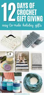 12 days of crochet gift giving easy