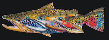 Fab Four Trout Decal Derek Deyoung
