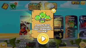 Angry Birds Seasons Power up test site and Trick or Treat All ...