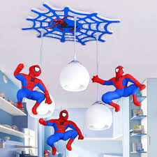 Modern Kids Room Pendant Lights The Avengers Led Decor Bedroom Pendant Lamp Spider Man Boy Girl Cartoon Hanging Light Fixtures Buy At The Price Of 118 63 In Aliexpress Com Imall Com