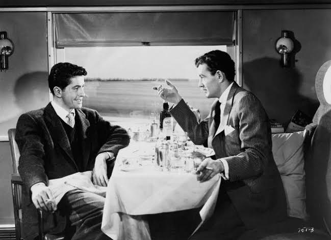 Resultado de imagen de extraños en un tren