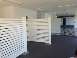 Pvc White Horizontal Slat Bellbrae Fence 2 34m Panel Various Heights Ebay