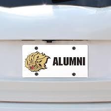 Arkansas Pine Bluff Golden Lions Alumni Plastic License Plate