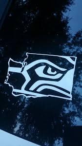 Custom Made Washington State Shaped Seahawks Decal For Vehicle Window Perfect For Any Seahawks Fan This Deca Seahawks Game Seahawks Seattle Seahawks Football