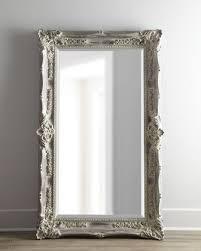 antique french floor mirror floor