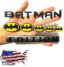 Batman Family Edition Emblem 3d Car Tractor Semi Truck Logo Decal Sign Door Hood Ebay