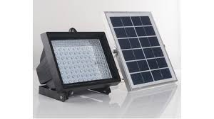 solar outdoor wall lights south