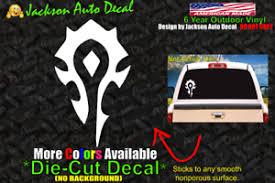 Horde Pc Gaming Wow World Of Warcraft Car Window Vinyl Decal Bumper Sticker Ebay