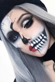 45 really cool skeleton makeup ideas to