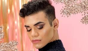 glitter eye makeup look tutorial