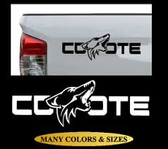 Coyote Side Rear Bed Vinyl Decal Sticker Truck Car Fits Ford F150 Mustang Ebay