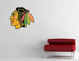 Chicago Blackhawks Nhl Wall Decal Vinyl Sticker Decor Hockey Extra Large Ebay