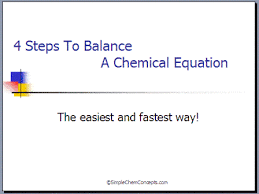 chemical equations tips