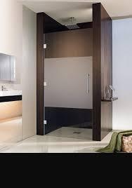 recess shower doors frameless shower