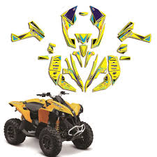 Can Am Can Am Renegade 500 800r 800x 800 X R 1000 Graphics Kit Decals Deco Atv Archives Midweek Com