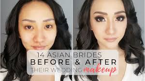 14 asian brides before after their