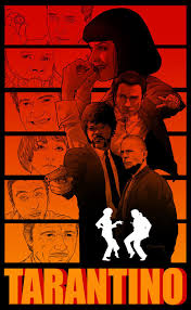 12+ Film Poster Quentin Tarantino  Background