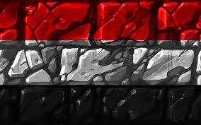 تحميل خلفيات اليمني العلم Brickwall 4k البلدان الآسيوية الرموز