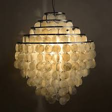 nordic past seashell pendant lights