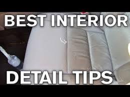 best interior detailing tricks leather