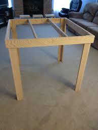 homemade pub table easy craft ideas