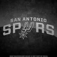 New San Antonio Spurs Logo Vinyl Decal Sticker 4 And Up 30 Color Options Ebay