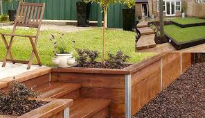 railroad ties for gardens