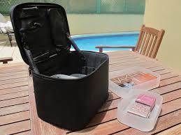 muji nylon makeup box