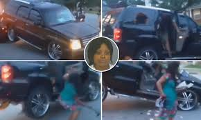 WATCH South Carolina motorist 'bite' tow truck driver as SUV is ...
