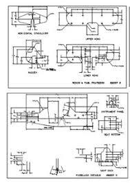 airplane model pattern plan plane