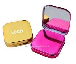 fashion cosmetic case power bank with