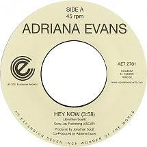 45cat - Adriana Evans - Hey Now / Undercover - Expansion - UK - AE7 2701