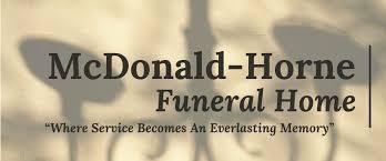 McDonald-Horne Funeral Home - Публикации | Facebook