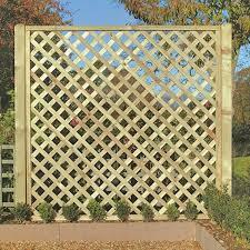 Lattice Screen Fence Panel Garden Fencing
