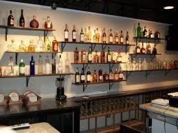 bottle shelves home bar bar shelves