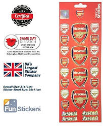 Amazon Com Arsenal Stickers Afc Stk001 Toys Games