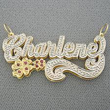 name necklace pendant diamond