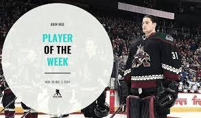 Player of the Week | Adin Hill | NHLPA.com