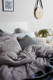 fleecy bedding is a must have for winter